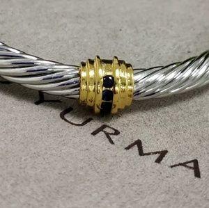 David Yurman Single Station Sapphire Bracelet